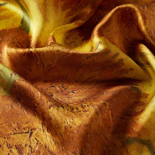 Ayçiçekleri Tivil İpek Eşarp