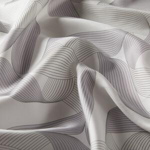 - Beyaz Kurdela Desenli Tivil İpek Eşarp (1)