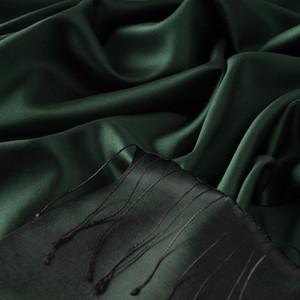 - Çam Yeşili Çift Taraflı İpek Şal (1)