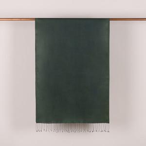 Çam Yeşili İpek Fular Şal - Thumbnail