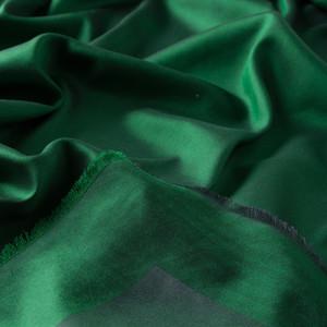 Emerald Çift Taraflı İpek Eşarp - Thumbnail