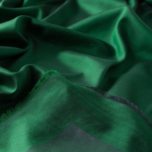 Emerald Çift Taraflı İpek Eşarp