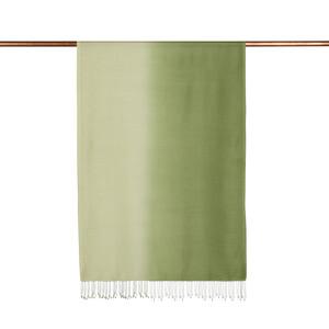 ipekevi - Fıstık Yeşili Degrade İpek Şal (1)