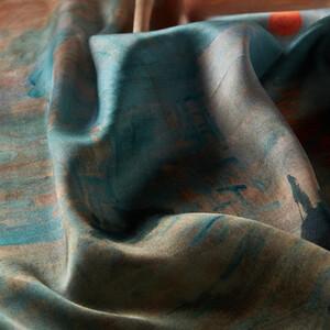 ipekevi - İzlenim: Gündoğumu Tivil İpek Eşarp (1)