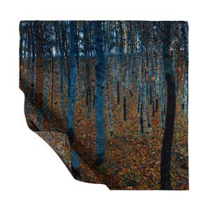 Kayın Ormanı Tivil İpek Eşarp - Thumbnail