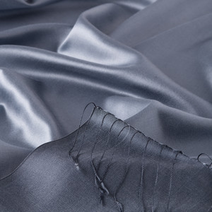 - Metalik Mavi Çift Taraflı İpek Şal (1)