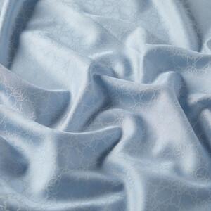 Mini Seljuk Monogram Bebe Mavisi Desenli Şal - Thumbnail