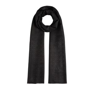 - Mini Seljuk Monogram Siyah Desenli Şal (1)
