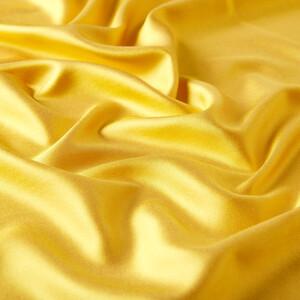 ipekevi - Sarı Çift Taraflı İpek Fular (1)