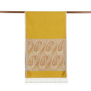 ipekevi - Sarı İpek Fular Şal (1)