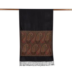 ipekevi - Siyah İpek Fular Şal (1)