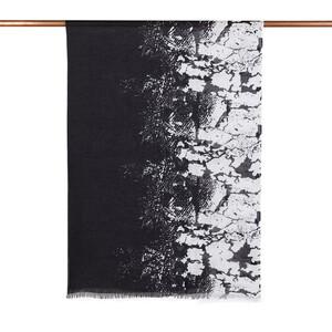- Siyah Magma Desenli Şal (1)