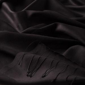 ipekevi - Siyah Mono Panjur İpek Şal (1)
