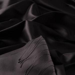 ipekevi - Siyah Şantuk İpek Şal (1)