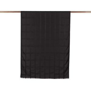 ipekevi - Siyah Saten İpek Şal (1)