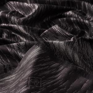 Siyah Simli İpek Şal - Thumbnail