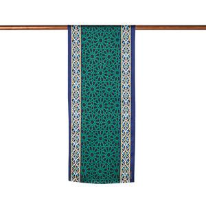 ipekevi - Yeşil Türbe Saten İpek Fular Model 05 (1)
