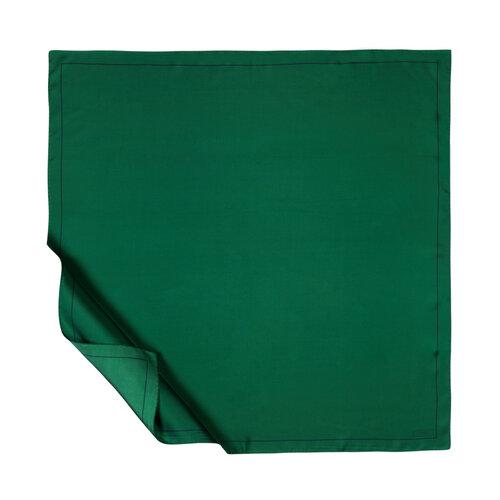 Zümrüt Yeşili Çerçeve Tivil İpek Eşarp