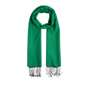 - Zümrüt Yeşili Çift Taraflı Pamuk İpek Şal (1)