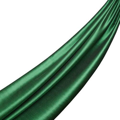 Zümrüt Yeşili İpek Şal