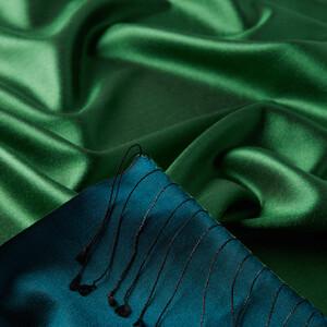 Zümrüt Yeşili İpek Şal - Thumbnail