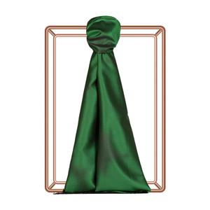 Zümrüt Yeşili Püskürtme Desenli İpek Şal - Thumbnail
