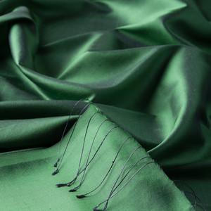 ipekevi - Zümrüt Yeşili Şantuk İpek Şal (1)